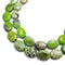 chrysoprase smooth oval beads