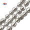 "Silver Coat Fresh Water Pearl Baroque Fireball Beads Approx 16x20mm 15.5"" Strand"