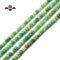 "Natural Chrysoprase Faceted Hard Cut Rondelle Beads 3x4mm 15.5"" Strand"