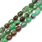 Chrysoprase Faceted Nugget Beads Size Approx 10x15mm 13x18mm 15.5''Strand