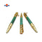 Handmade Natural Malachite Stone 30 Caliber Bullet Gold Plated Ball Point Writing Pen
