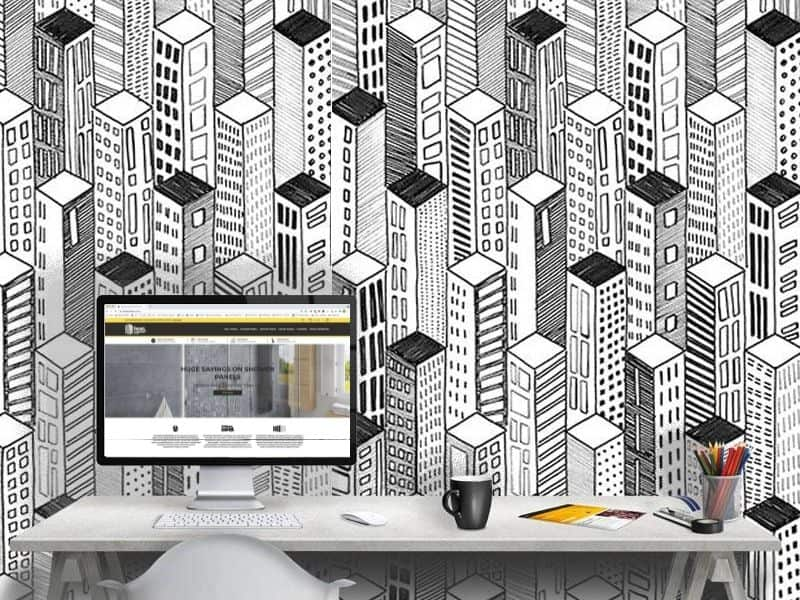 home office wall panels