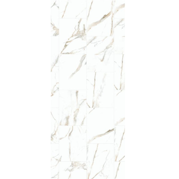 PREMIUM LARGE ONYX BEIGE 1.0m X 2.4m SHOWER PANEL