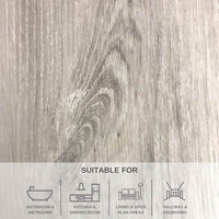 TUMMEL OAK LVT FLOORING WITH BUILT IN UNDERLAY - ELEGANCE RANGE 2.196M² PACK