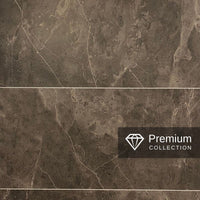PREMIUM LARGE TILE BRONZE 1.0m X 2.4m SHOWER PANEL