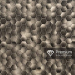 PREMIUM LARGE HEXAGONAL BRONZE 1.0m X 2.4m SHOWER PANEL