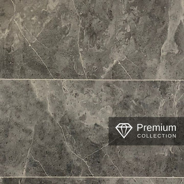 PREMIUM LARGE TILE GREY 1.0m X 2.4m SHOWER PANEL