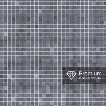 PREMIUM LARGE MOSAIC BLUE 1.0m X 2.4m SHOWER PANEL