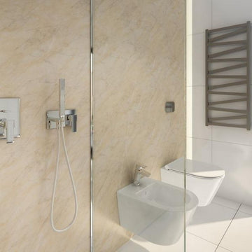 LARGE PERGAMON 1.0m X 2.4m SHOWER PANEL