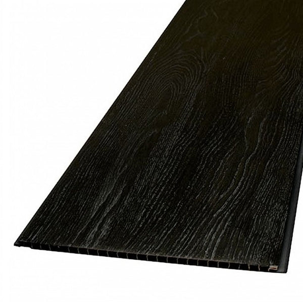 DECORWALL WOOD GRAIN BLACK SILVER ELEGANT OAK 8mm