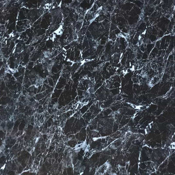 LARGE BLACK MARBLE 1.0m X 2.4m SHOWER PANEL