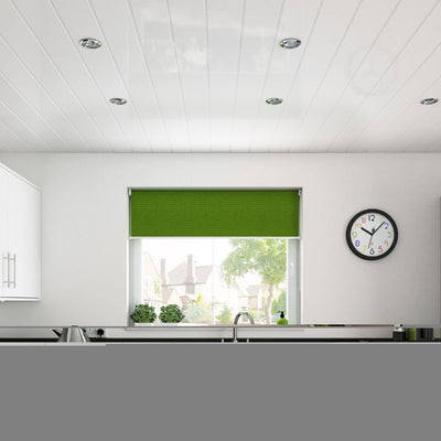 White v groove pvc kitchen wall panel