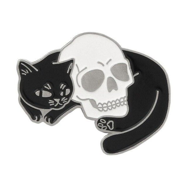 Mystical Cat Witch Pins - Meliscents - Wax Melts & More