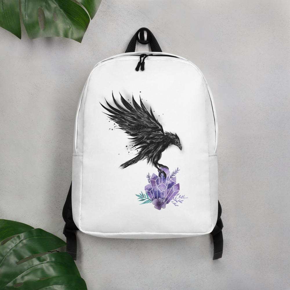 Raven White Backpack - Meliscents - Wax Melts & More