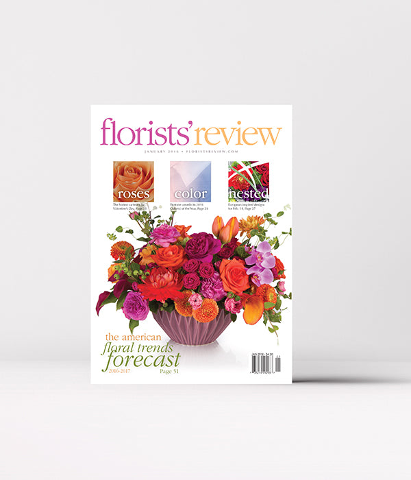 2016 Florists' Review Past Issues