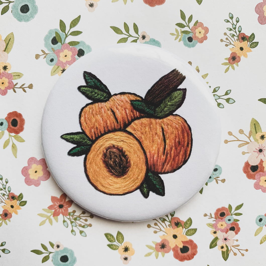 peaches pin