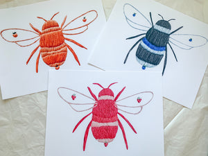 fruit bees print bundle