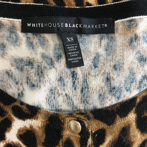 White House Black Market Cardigan Sweater Size Small