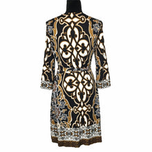 Load image into Gallery viewer, Hale Bob Wrap Dress Size Medium