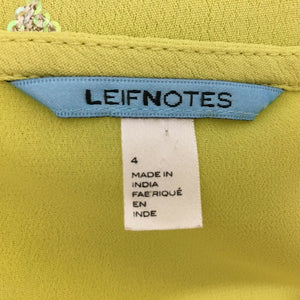 Anthropologie Leifnotes Dress Size 4