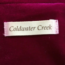 Load image into Gallery viewer, NEW Coldwater Creek Velvet Vest Size 12