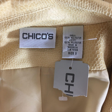 Load image into Gallery viewer, NEW Chicos Jacket Size 3