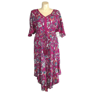 Roamans Dress Plus Size 18W