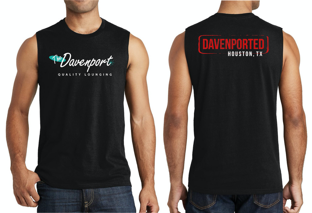 BLACK Davenport Sleeveless