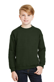 Gildan - Youth Heavy Blend Crewneck Sweatshirt.  18000B