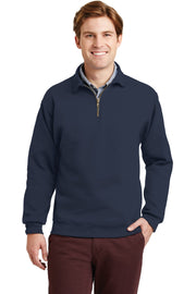 JERZEES SUPER SWEATS NuBlend - 1/4-Zip Sweatshirt with Cadet Collar.  4528M