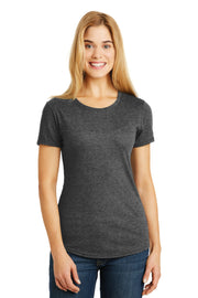 Anvil Ladies Tri-Blend Tee. 6750L