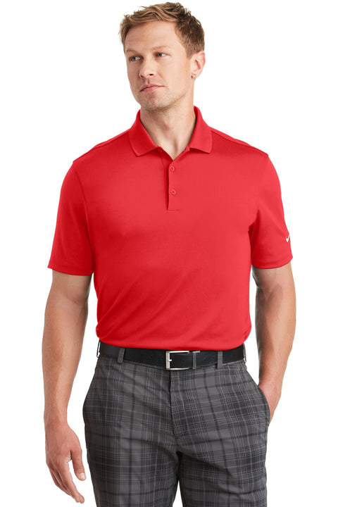 Nike Dri-FIT Players Polo with Flat Knit Collar. 838956