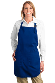 Port Authority Full-Length Apron with Pockets.  A500