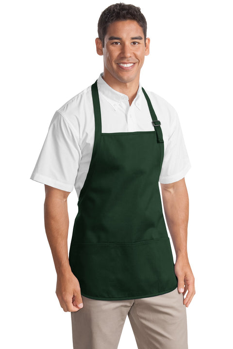 Port Authority Medium-Length Apron with Pouch Pockets.  A510