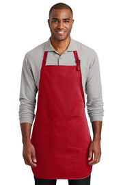 Port Authority  Full-Length Two-Pocket Bib Apron. A600