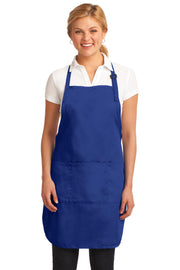 Port Authority Easy Care Full-Length Apron with Stain Release. A703