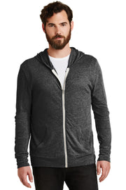 Alternative Eco-Jersey Zip Hoodie. AA1970