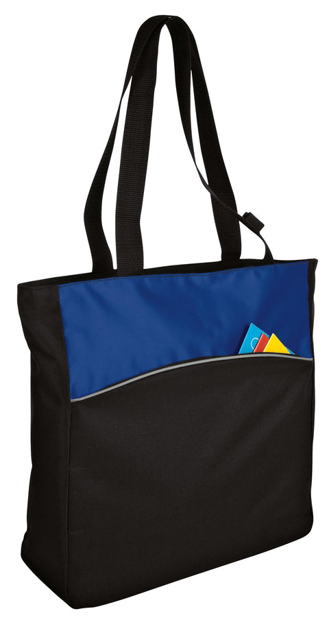 Port Authority - Two-Tone Colorblock Tote. B1510