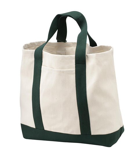 Port Authority - Two-Tone Shopping Tote.  B400
