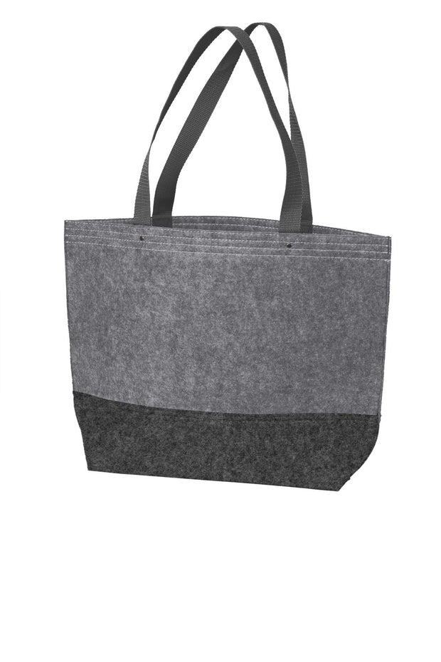 Port Authority Medium Felt Tote. BG402M