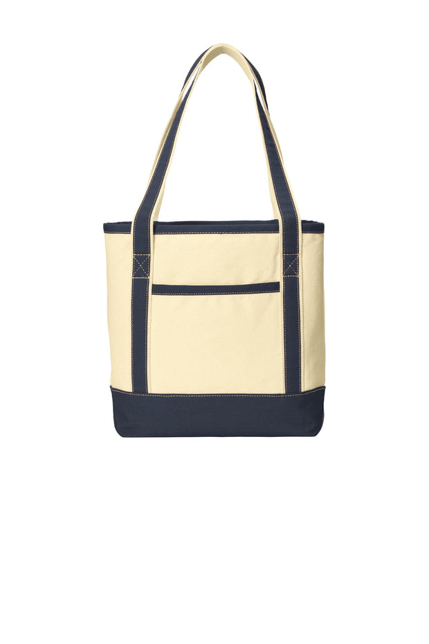Port Authority Medium Cotton Canvas Boat Tote. BG412