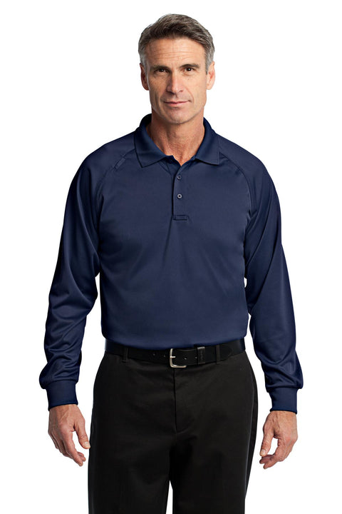 CornerStone - Select Long Sleeve Snag-Proof Tactical Polo. CS410LS