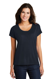 District  Women's Drapey Dolman Tee. DM412