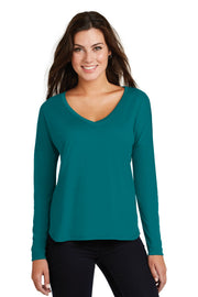 District  Women's Drapey Long Sleeve Tee. DM413