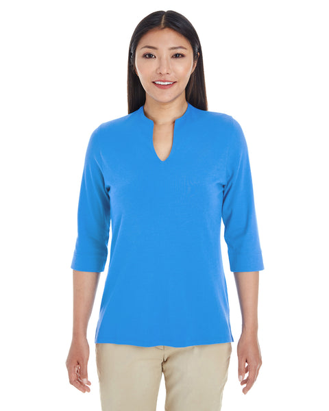 Ladies' Perfect Fit™ Tailored Open Neckline Top. DP188W