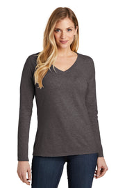 District  Women's Very Important Tee  Long Sleeve V-Neck. DT6201