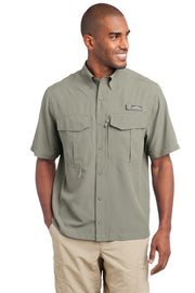 Eddie Bauer - Short Sleeve Performance Fishing Shirt. EB602