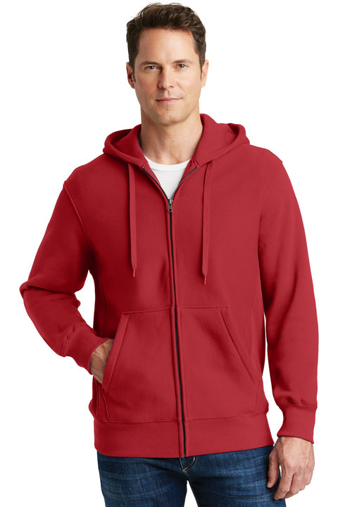 Sport-Tek Super Heavyweight Full-Zip Hooded Sweatshirt.  F282