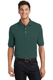 Port Authority Heavyweight Cotton Pique Polo with Pocket.  K420P