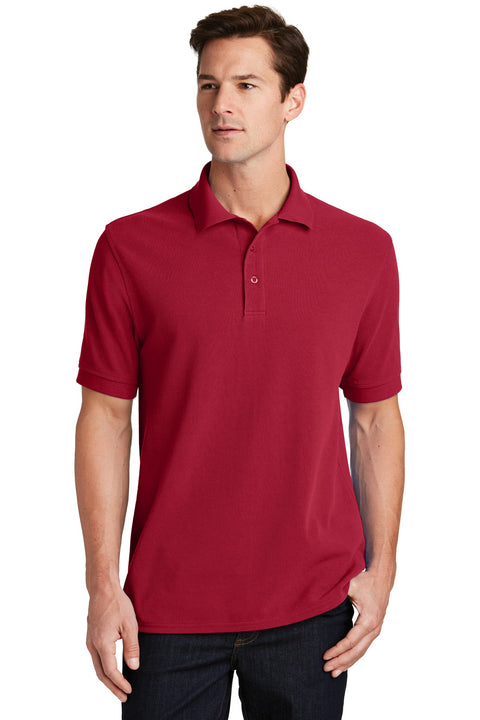 Port & Company Combed Ring Spun Pique Polo. KP1500